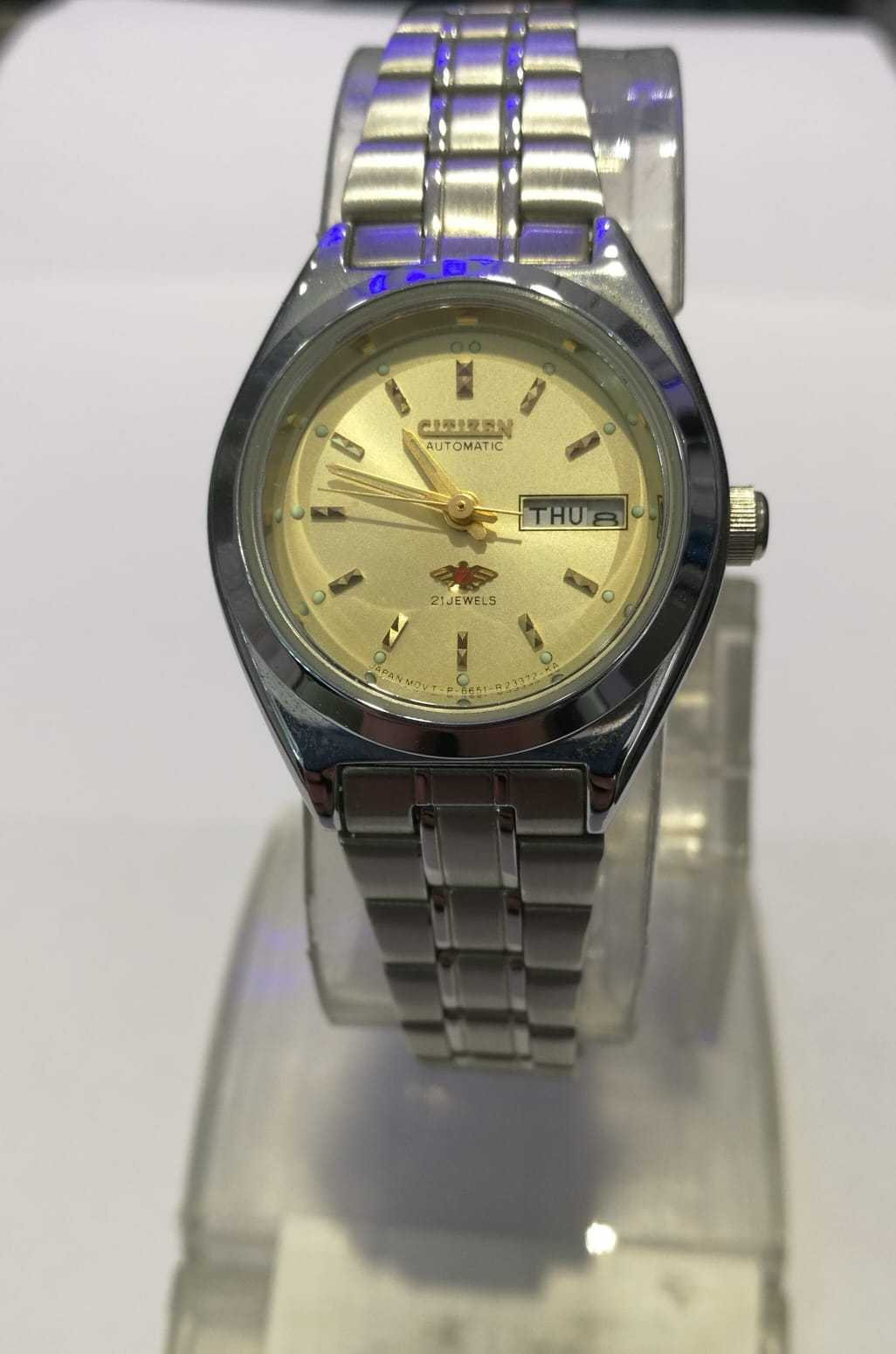 Citizen Automatic 21Jewels Bayan Kol Saati